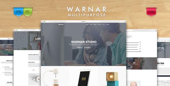 Warnar - Creative Multipurpose Template TFx Mort Kendall