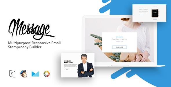 message - Responsive Email Template Minimal            TFx Beauregard Elmer