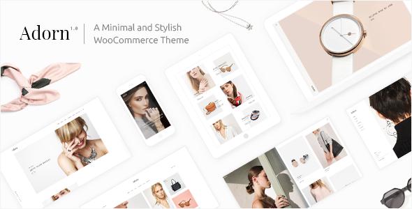 Adorn - A Minimal and Stylish WooCommerce Theme - WooCommerce eCommerce TFx Lindon Clifton