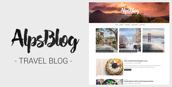 AlpsBlog - Travel Retail TFx WordPress Athelstan Vernon