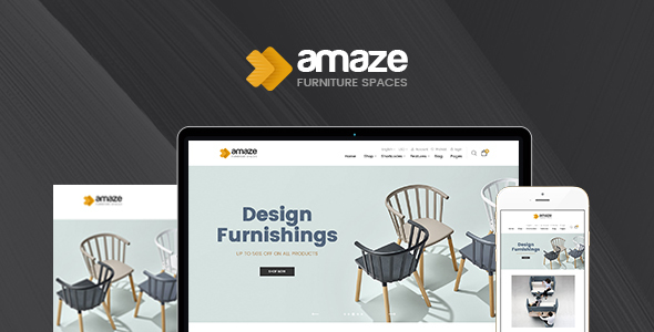 Amaze  Magento 2 Template - Shopping Magento TFx Logan Keith