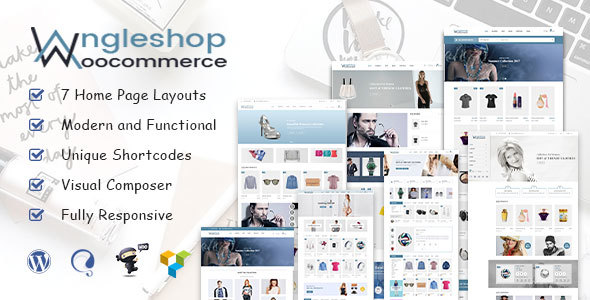 Angel Shop - WooCommerce WordPress Theme - eCommerce WordPress TFx Percy Rafferty