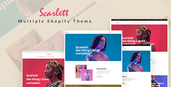 Ap Scarlett Shopify Theme - Fashion Shopify TFx Georgie Fitz