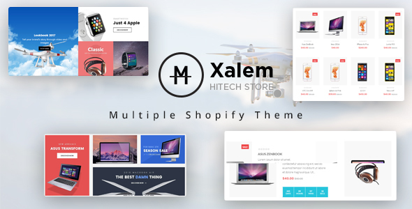Ap Xalem Shopify Theme - Technology Shopify TFx Lawson Jaron