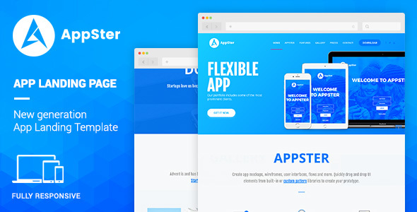 Appster - Mobile App Landing WordPress Theme TFx Holden Hiram