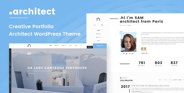 Architect | Architecture Portfolio WordPress Theme - Portfolio Creative TFx Mervyn Akira