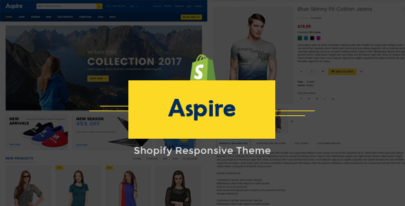 Aspire - Multipurpose Shopify Responsive Theme TFx Sammy Vere