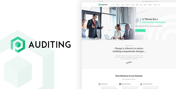 Auditing | Multi Purpose Auditing / Consultancy WordPress Theme – Business Corporate TFx Simon Daniel