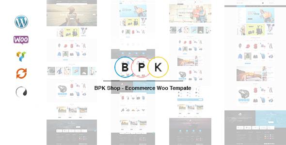 BPK Shop - WooCommerce Responsive  Theme TFx Royale Darrell