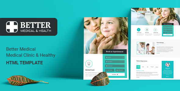 Better Medical – Medical Clinic & Healthy – HTML Template – Health & Beauty Retail TFx Arnold Nat