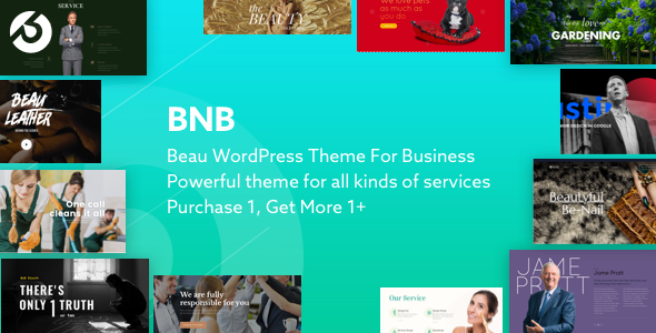 BnB Multi-Purpose WordPress Theme for Business - Retail WordPress TFx Jerry Ainsley