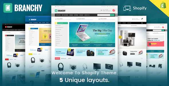 Branchy - Sectioned Multipurpose Shopify Theme TFx Evelyn Mortimer