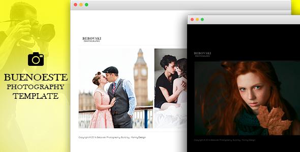 Buenoeste Photography - Creative Template for Photography by Photographers - Photography Creative TFx Darren Aden