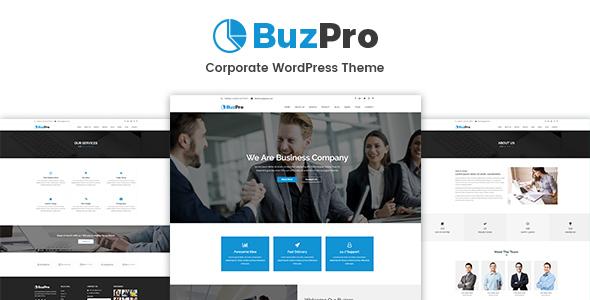 Buzpro – Corporate WordPress Theme - Business Corporate TFx Walter Lennox
