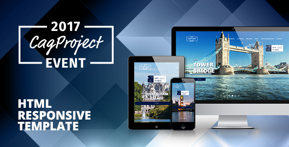 CAG Event & Activity – Responsive HTML Template – Events Entertainment TFx Carloman Kiefer