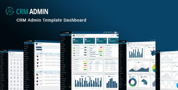 CRM Admin - Bootstrap CRM Admin Template Dashboard TFx Buddy Dwi