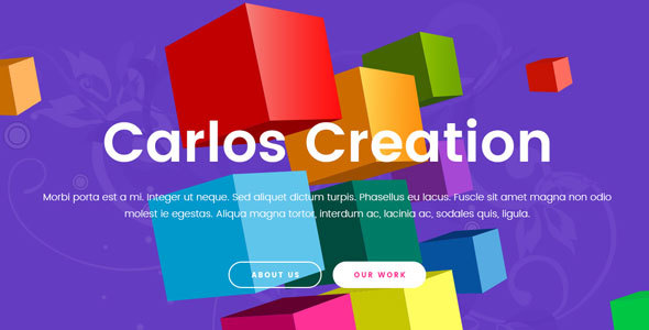 Carlos - Creative Agency Template - Portfolio Creative TFx Edgar Lincoln