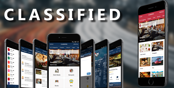 Classified Mobile and Tablet Responsive Template for Classified Listing - Mobile Site Templates TFx Kiyoshi Gary