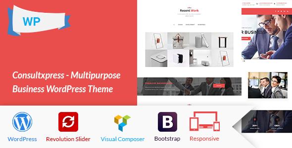 Consultxpress - Multipurpose Business WordPress Theme TFx Darius Kelcey