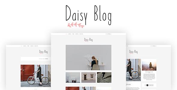 Daisy – Blog PSD Template – PSD Templates  TFx Louie Dalton