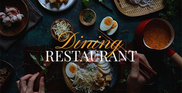 Dining Restaurant TFx PSDTemplates David Vespasian