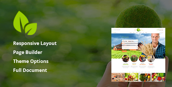Eco Farm - Organic Food & Eco Farm WordPress Theme TFx Suharto Steve