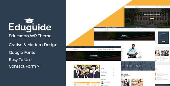 Eduguide – Education WordPress Theme TFx Denver Jem