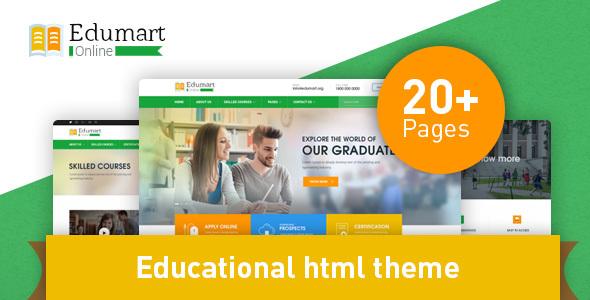 Edumart - Education Template - Business Corporate TFx Raphael German