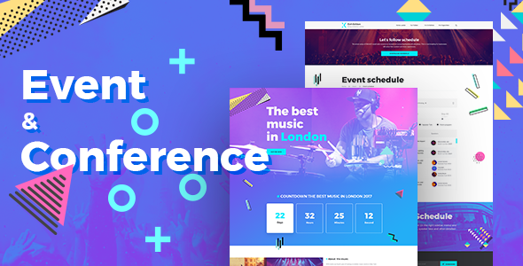 Exhibition - Event & Conference PSD Template TFx Carlyle Moe