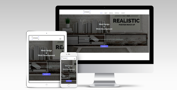 Extension - Responsive Muse Template - Corporate Muse Templates TFx Garnett Stan
