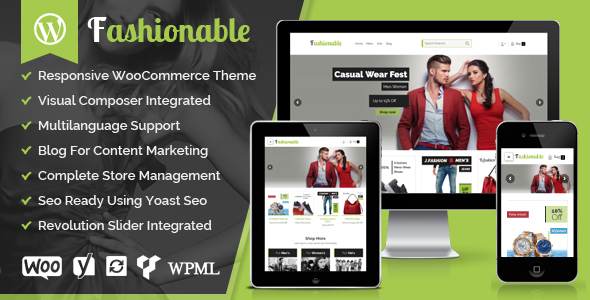Fashionable - Creative Fashion WooCommerce WordPress Theme TFx Rene Derren