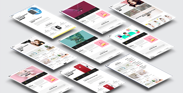 Florida Template for Artists, Agencies, Business, Freelancers & Creative - Landing Pages Marketing TFx Keiran Makoto
