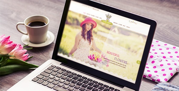 Flower Shop - Responsive & Mobile HTML Template - Shopping Retail TFx Weston Adi