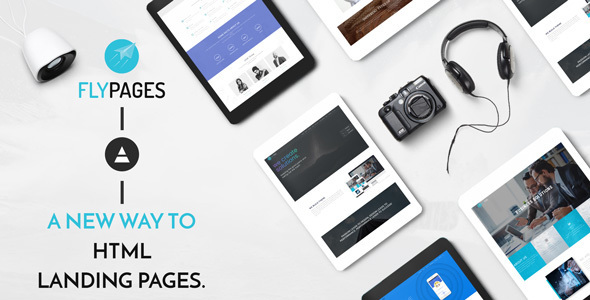 FlyPages – HTML Theme With Builder – Creative Site Templates TFx Kelley Bobbie