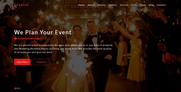 Giselle-Event Management || Multipurpose Bootstrap Template – Creative Site Templates TFx Sulaiman Yuuki