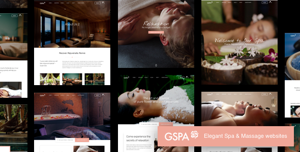 Grand Spa | Beauty Massage WordPress - Health & Beauty Retail TFx Wystan Ainsley