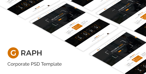 Graph – Creative PSD Template – Marketing Corporate TFx Ronnie Walt