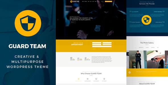 Guard Team – Security WordPress Theme – Business Corporate TFx Payton Rikuto