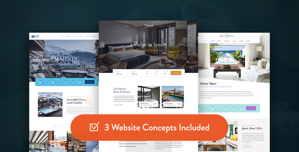 Haven - Hotel WordPress Theme - Travel Retail TFx Jimmy Grover