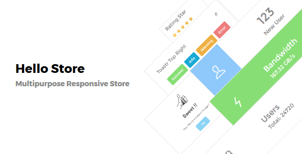Hello Store – Ecommerce Store Template – Shopping Retail TFx Stepan Gevorg