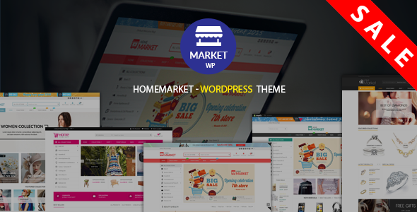 HomeMarket - Responsive WordPress eCommerce Theme - WooCommerce eCommerce TFx Wallis Brant