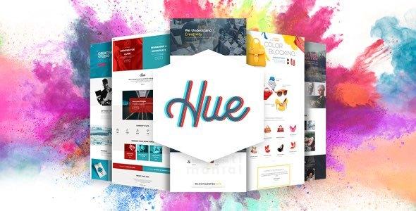 Hue - Creative Color and Mood Combination WordPress Theme - Creative WordPress TFx Tirto Ayumu