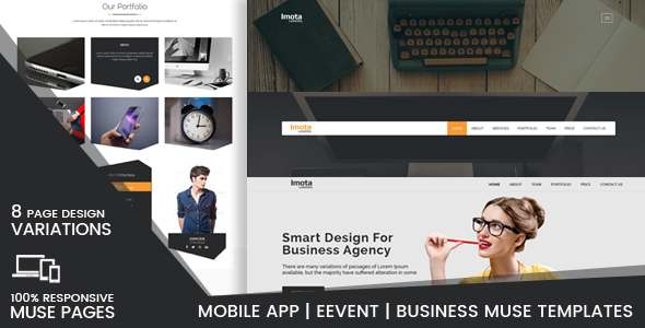 Imota-Creative Muse Landing Pages - Creative Muse Templates TFx Blaine Zachary