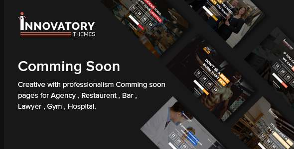 Innovatory - Coming Soon Template TFx SiteTemplates Kouta Florence