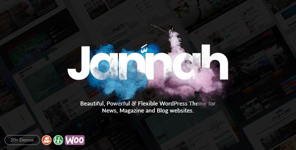 Jannah - WordPress News Magazine Blog & BuddyPress Theme - News / Editorial Blog / Magazine TFx Tranter Rylan