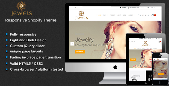 Jewelry - Fashion Shopify Theme - Fashion Shopify TFx Komang Ibrahim