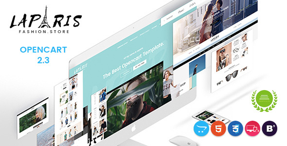LaParis - Simple Creative Responsive Opencart Theme - Fashion OpenCart TFx Hiroto Lloyd