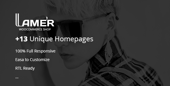 Lamer Fashion - WooCommerce WordPress Theme - WooCommerce eCommerce TFx Carlisle Ilbert