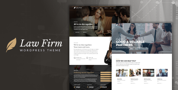 Law Firm - Lawyer & Attorney WordPress Theme TFx Jaydon Sora