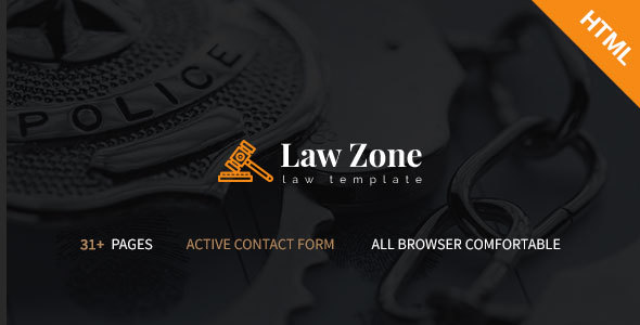 Lawzone- Law Firm, Lawyer and Attorney Responsive HTML5 Template TFx Baz Hadley
